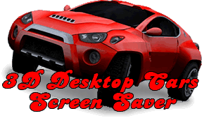 3D Desktop Cars Monster Trucks F1 Racing Screensaver