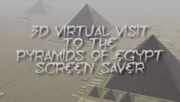 3D Pyramids of Egypt Screensaver for Mac OS X