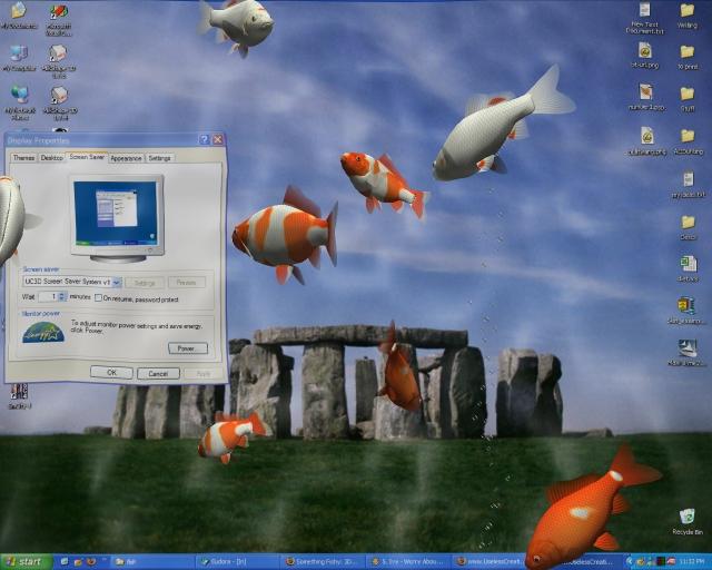 3d desktop aquarium screensaver for mac os x