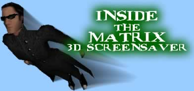 Inside The Matrix 3D Screen Saver