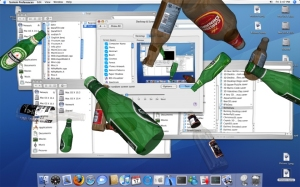 beer 3d world budweiser asahi heineken carlsberg screensaver