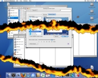 Burning Desktop Fire Screensaver