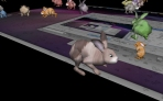 3d desktop easter bunny rabbit screensaver