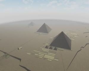 Pyramids of Egypt Giza Plateau Screensaver