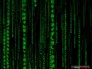 3D Matrix Code Screensaver