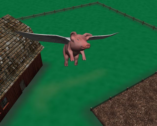 www uselesscreations com when pigs fly 3d screensaver