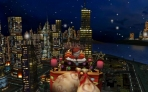 3D Christmas Santa and the City Screen Saver Reindeer Elf Xmas Holidays