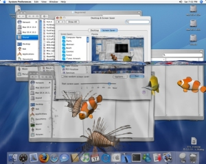 desktop aquarium fish 3d