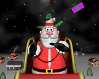 A Very 3D Christmas Screensaver Santa Reindeer Elf